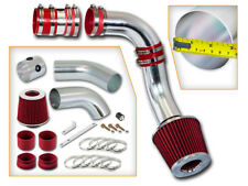 BCP RED 99-05 Grand AM/Alero 3.4L V6 Cold Air Intake Induction Kit + Filter