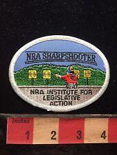Gun Patch NRA SHARPSHOOTER NRA Institute for Legislative Action 75V1