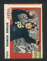 1955 Topps All American #51 Duane Purvis GVG SP 100737