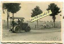 Foto : Flugpl.Traktor-Walze der Fern Aufklärungs-Gruppe Tannenberg in Polen 1939