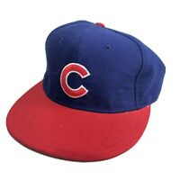 New Era 5950 Pro Model Chicago Cubs Hat 100% Wool 6 7/8 VTG Diamond Collection