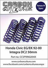 HONDA CIVIC EG EK 50MM LOWERING SPRINGS - CARBON CULTURE BRAND - HIGH QUALITY