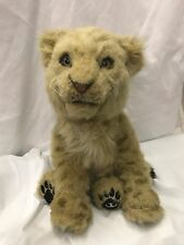 WowWee Alive Lion Tiger Cub 2007 Plush Robotic Toy Interactive Lifelike Sounds