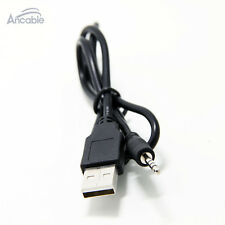 Spy Watch Hidden Digital Camera DVR Cord - USB A charge cable to 2.5mm male