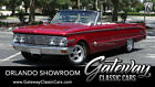 1963 Mercury Comet S22 Red 1963 Mercury Comet Convertible 289 V8 4 Speed Manual Available Now!