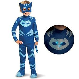 PJ Masks Catboy Deluxe Light-Up Toddler size 2T Boys Costume Disguise