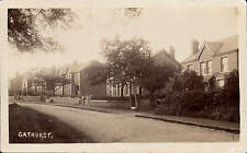 Gathurst near Wigan. Street with Houses at Right.