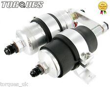 SINGOLO BOSCH 044 pompa di carburante e assemblaggio del filtro (AN-6, AN-8 o AN-10) in argento