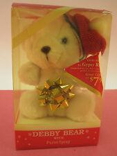 Vintage 1980's? Debbie Bear Perfume promo Giorgio RED/Gypsy RED Cute XMAS RARE