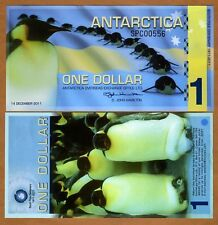 Antarctica, $1, 2011, Polymer -> Commemorative