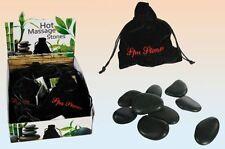 5x 9tlg Hot Stone Massage Set Natursteine Wärmetherapie Heisse Steine Therapie