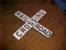 4ft  Replica of Old Vintage Peerless Railroad Crossing sign  C & O Railroad PTD.