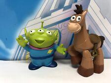 Disney Pixar Toy Story 1 2 3 4 Alien Figure Toy Character Bundle Bullseye Horse