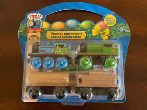 2009 Learning Curve Wooden Thomas Train Thomas & Percy's Easter Celebration! NEW