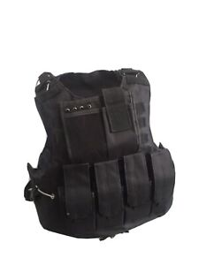 Plate Carrier Vest Tactical  Made With Kevlar USA BODY Armor Bulletproof Panels