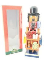 "Kurt Adler Clock Maker Nutcracker 12"" Holiday Christmas Collectible"