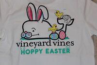 NWT Vineyard Vines Boys Size 6 Hoppy Easter SS Graphic Pocket T-Shirt