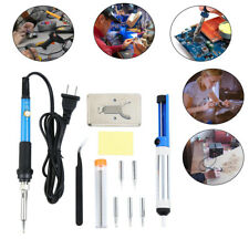 Soldering Iron Tool Electronic Desoldering Pump Welding Power Tweezer Kit Samger