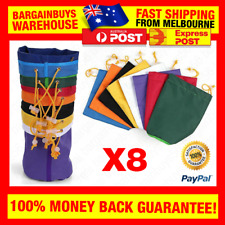 8pcs 1 Gallon Bubble Bag Filter Bags Herb Oil Extraction Ice Bubbler Bags