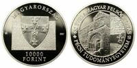 2017 Ungarn, 10000 Forint Jahrestag der Universität Pécs PP, 1 oz Silber, RAR