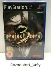 PROJECT ZERO 3 THE TORMENTED - SONY PS2 - NUOVO SIGILLATO - NEW SEALED PAL UK