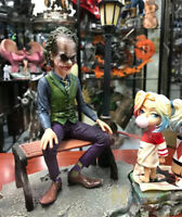 Suicide Squad Scene Ver. Joker&Baby Harley Quinn PVC Figure Statue