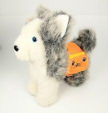 American Girl Ag Pepper Siberian Husky Dog 2012 w/ service pouch accessory doll