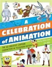 Celebration of Animation 100 Greatest Cartoon TV SIGNED BY Joe Wos Hardcover NEW