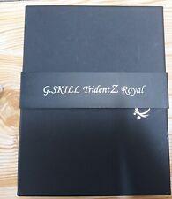G.SKILL Trident Z Royal 16GB DDR4 3600MHz Memory Module - Pair...CL18 gold
