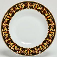 """VERSACE ROSENTHAL RARE """"BAROCCO"""" 8.75"""" RIMMED SOUP BOWL"""