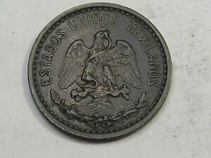 Scarce 1906 2 Centavos Mexico Km419 Snake/Eagle.  #14