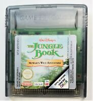 The Jungle Book Video Game for Nintendo Game Boy Color TESTED