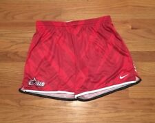 Nike Women's M Lacrosse Soccer Training Game Motion Shorts Red $50 821987