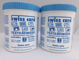 Swiss Care Natural Stain Remover Clothing, Upholstery, Carpets, Curtains 2 pack