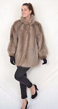 US368 Vintage Nice Nutria beaver fur jacket no mink jacket Pelzjacke Pelz ~ XL