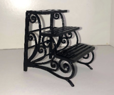 1/12th scale miniature dollhouse roombox 3 tier plant stand - Falcon