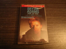 Cassette Bryan Adams RUN TO YOU 1984 3 TITRES AM RECORDS CS 23027