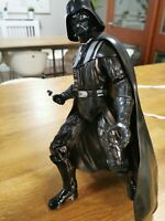 Star Wars  The Black Dark Lord Sith Darth Vader 15 inch, used no sword