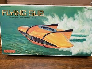 Aurora Voyage to the Bottom of the Sea Flying Sub SEALED