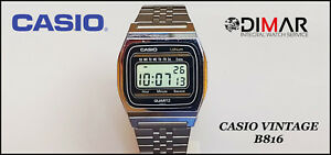 Vintage Casio B816, QW.155, Japan An 1980 Lithium