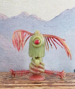 Vintage Rubber Uglies Jiggler Monster Oily 1960's Red Eyed  Iris RARE