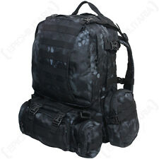Mandra Night Camo MOLLE Defense Pack - Camouflage Rucksack Backpack Bag Army New