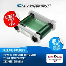 Evolis Green Ribbon for Primacy/Zenius Printers • Free UK Delivery