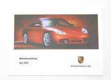 Porsche 996 GT3 Instrucciones Servicio, Manual de Instrucciones, Mj. 2000