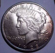 1922--D GEM- BU-Peace Dollar-Tremendous Eye Appeal-GORGEOUS TONING! NEW VAM?