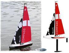 RC Boot Segelboot Segelyacht Compass Ferngesteuert 2,4GHZ Regattayacht