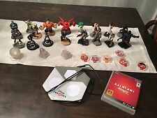 Disney Infinity Lot 3.0 PS3 Dock, Game, 17 Characters Star Wars, Tron + More!