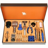 H&S 155pcs Watch Repair Tool Kit Strap Link Removal Adjustment Kit Back Case