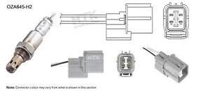 NGK NTK Oxygen Lambda Sensor OZA645-H2 fits Honda Jazz 1.3 (GD), 1.5 (GD)