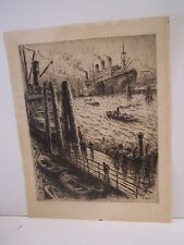 Early 20th Century Signed Lithograph - Unknown Artist